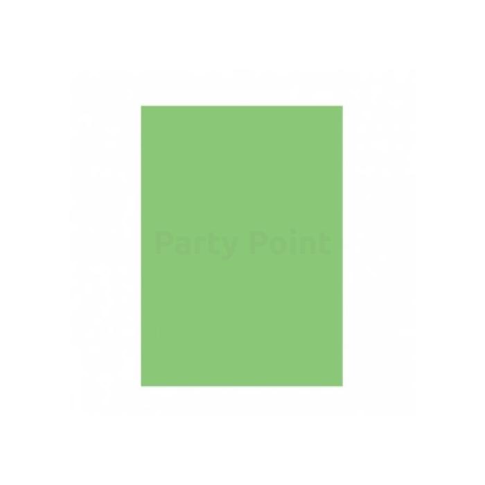 Lime zöld papír asztalterítő, 137 x 274 cm