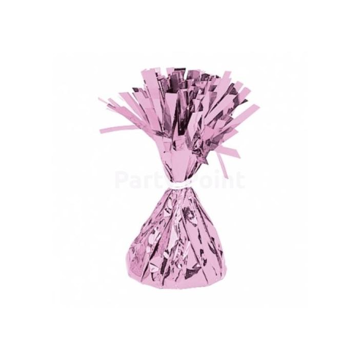 Rózsaszínű fóliás lufisúly