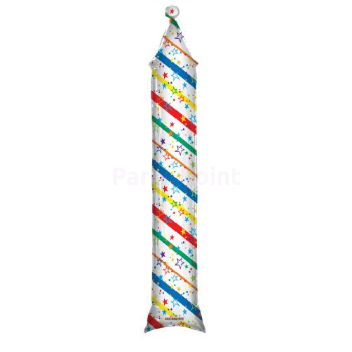 180 cm-es Rocket fólia lufi
