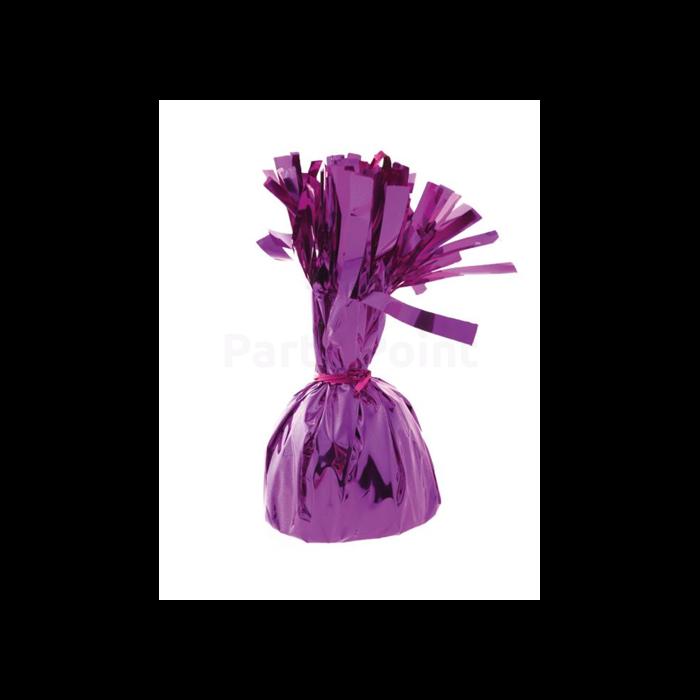 Ibolya színű fóliás lufisúly