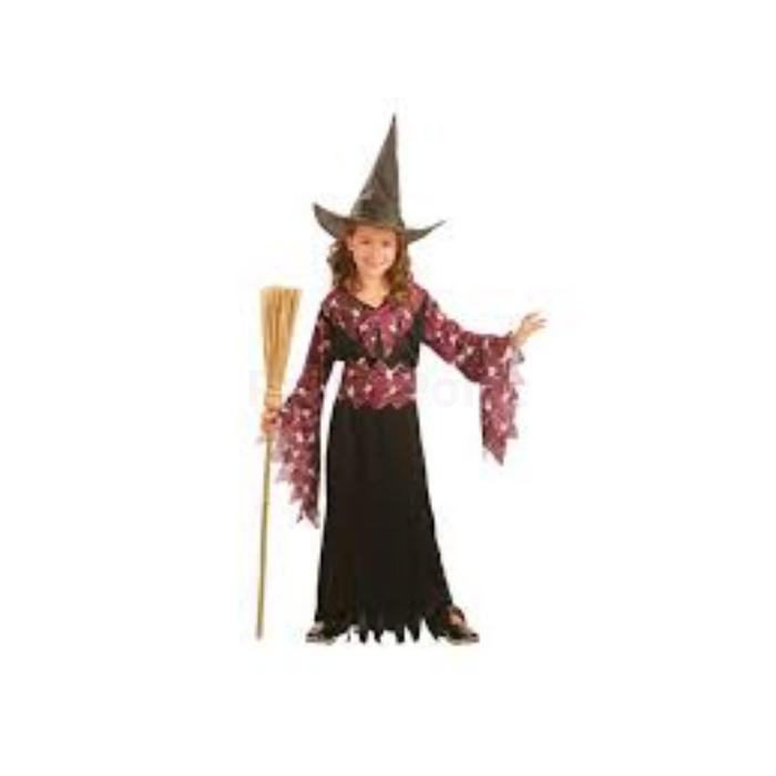 Boszorkány jelmez gyerekeknek 120/130cm